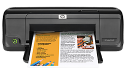 How to download HP Deskjet D1660 inkjet printer driver software