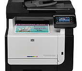 HP LaserJet Pro CM1415fn Printer