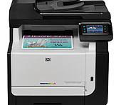HP LaserJet Pro CM1415fn Printer